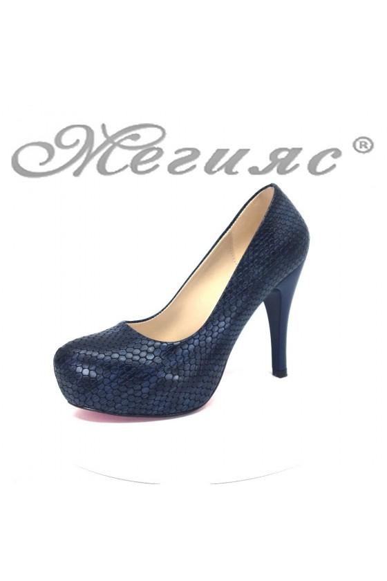 Women  shoes 83 blue pu