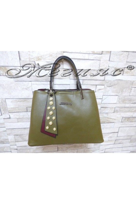 Lady bag 1176 green PU