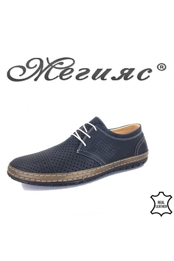 Men's shoes 808-05-01 blуе leather
