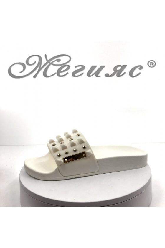 Women sandals 10-4 white
