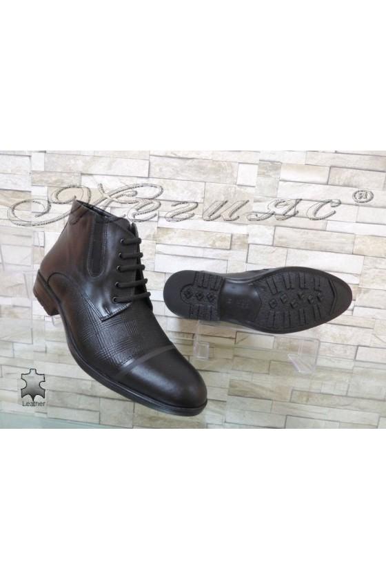 Men's boots 5106 black leather