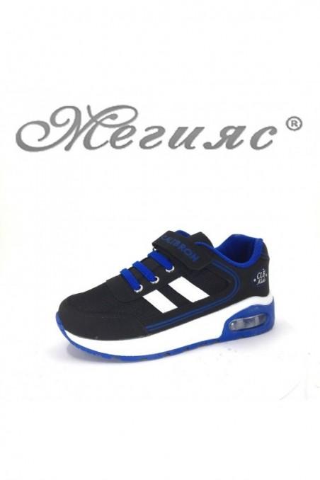 182 children's sport shoes blue-black