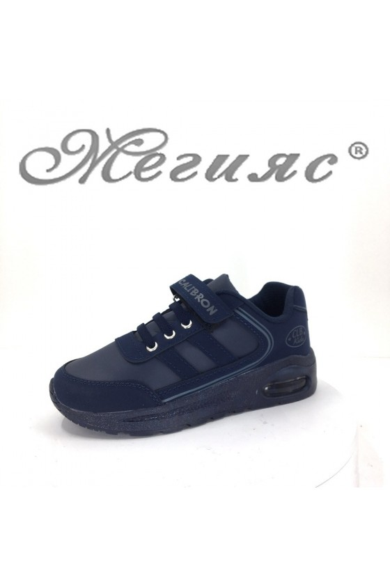 182 children's sport shoes dark blue