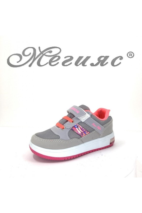 2018 Children's sport shoes grey pu