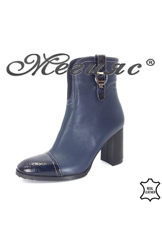 707-2120 Lady boots blуе leather