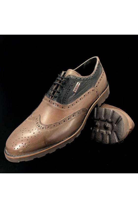 """383 10 Мъжки обувки """"Оксфорд"""" кафяви"""