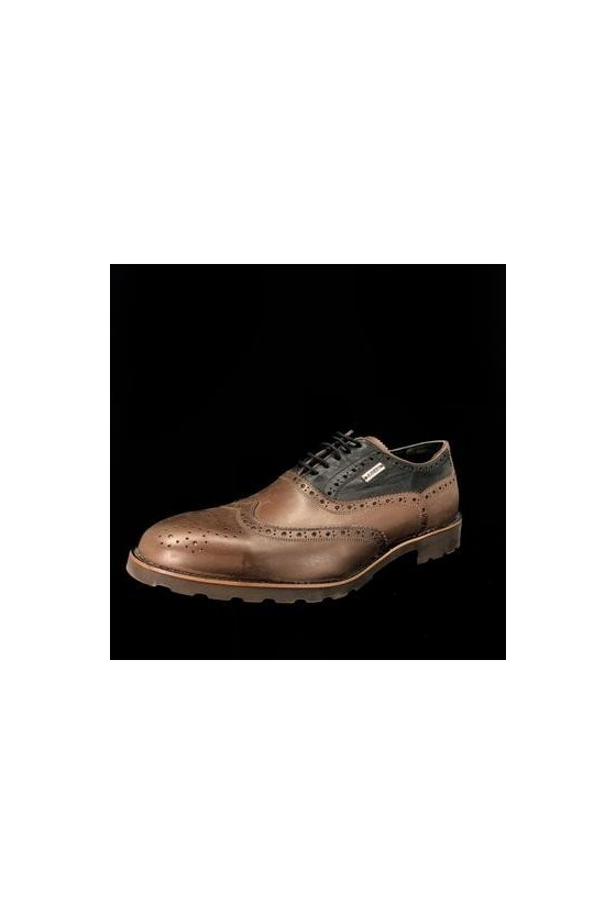 383 10 Men's shoes brown leather