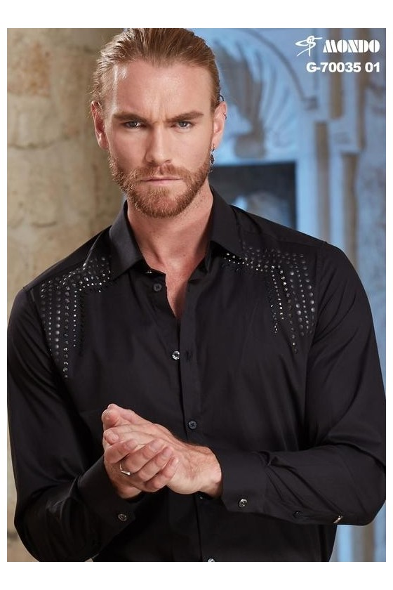 70035 01 MENS BLACK SHIRT