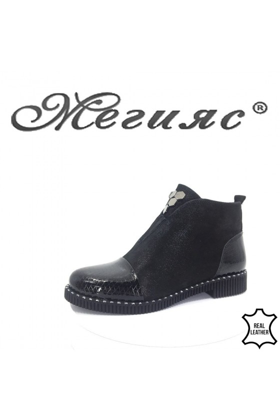 701/070-60 Women boots black leather