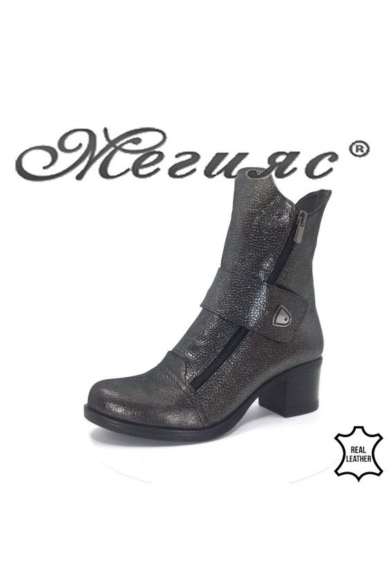 92-43 Lady boots black leather