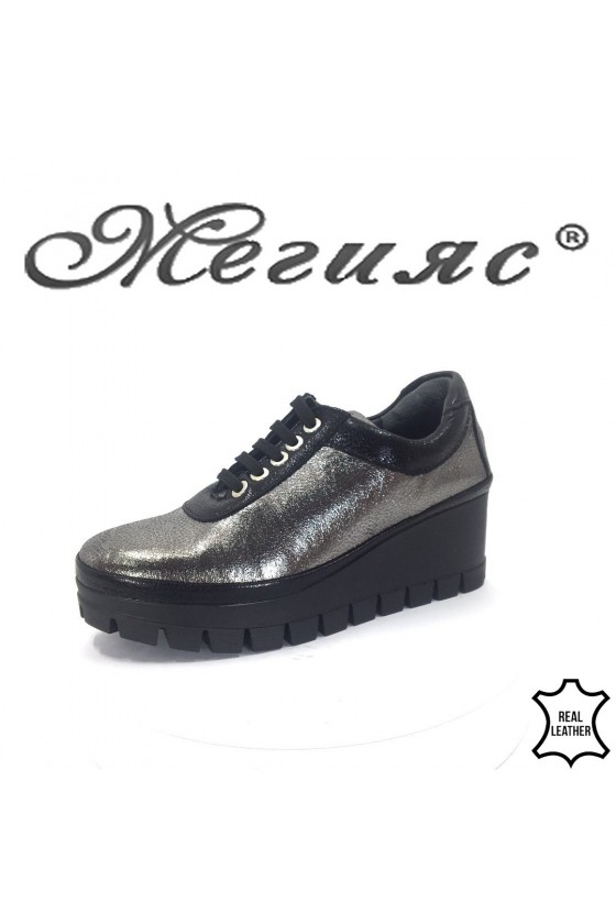 1795 Lady shoes XXL silver leather