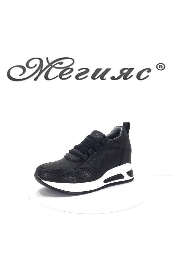 034 Lady sport shoes pu