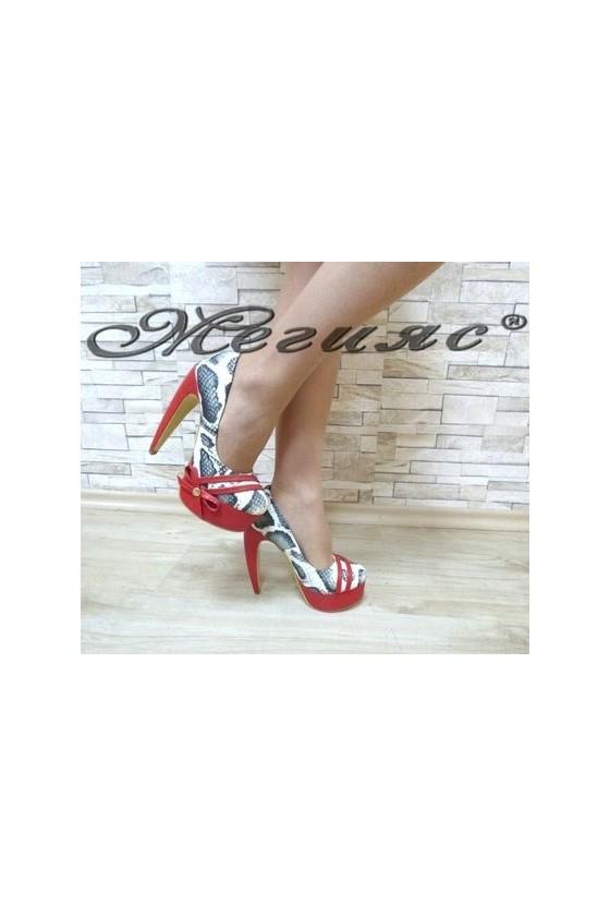 13-3368 Дамски елегантни обувки от еко кожа