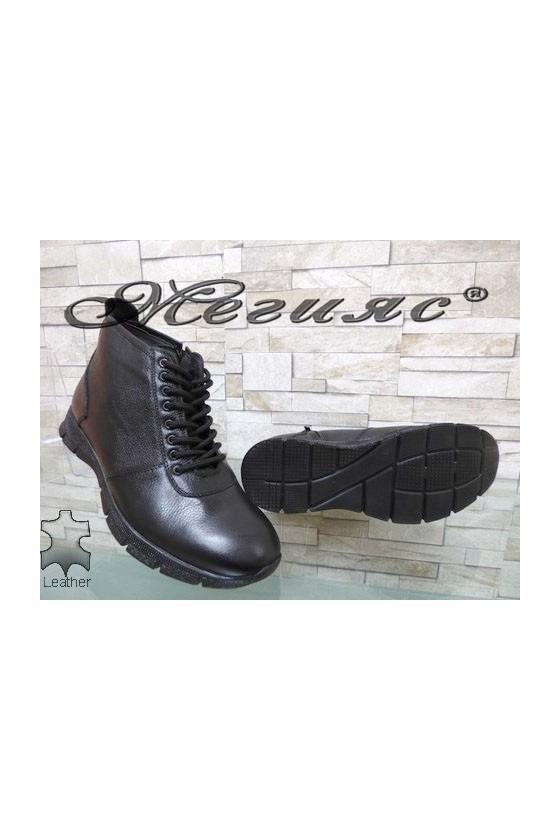 4029 Men's boots black leather
