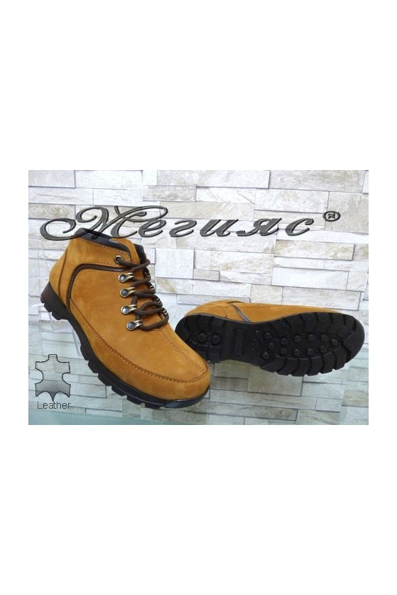 610-508 Men's boots yellow leather