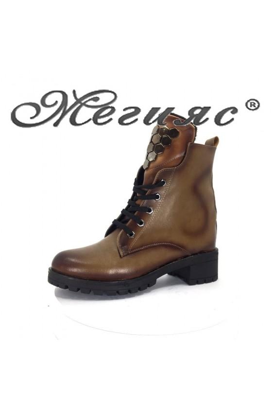 200 Lady boots taba pu