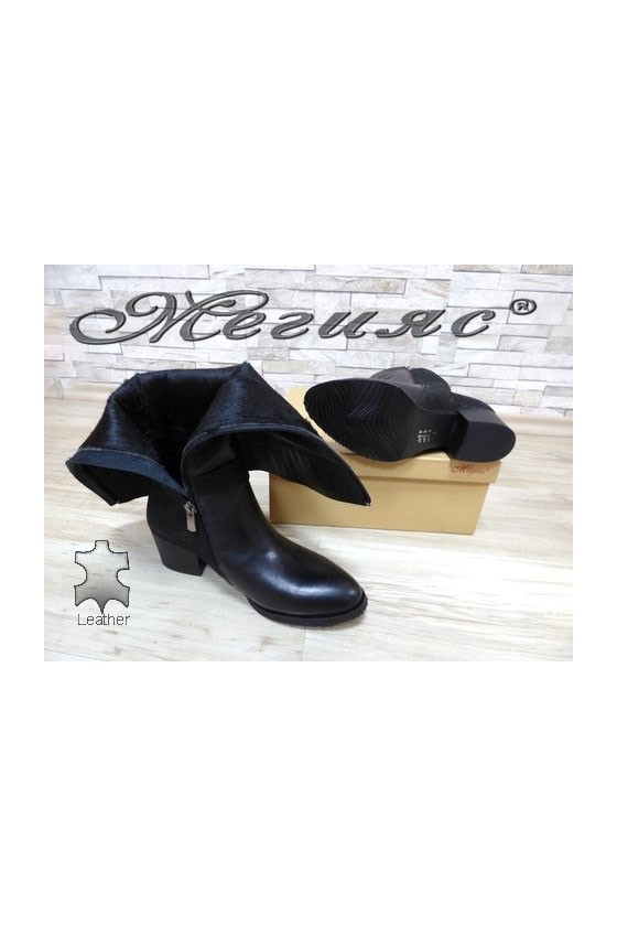 1246-01-30  Lady boots black leather