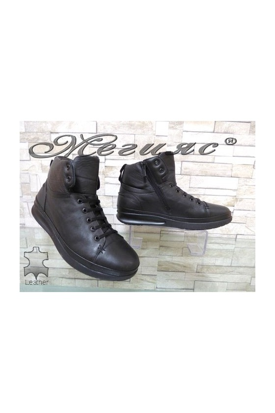 511 Men's sport boots black leather