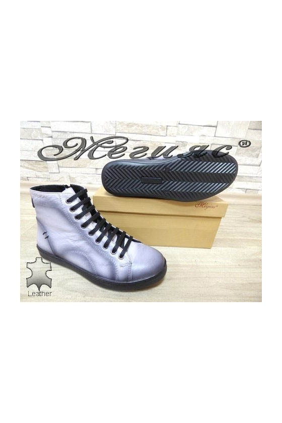501 Lady sport boots grey leather