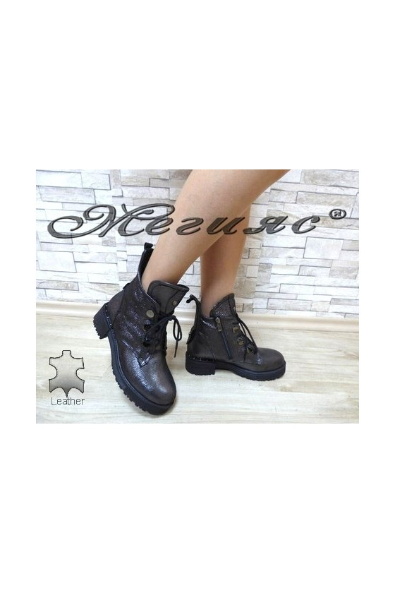 36 Lady boots dark grey...