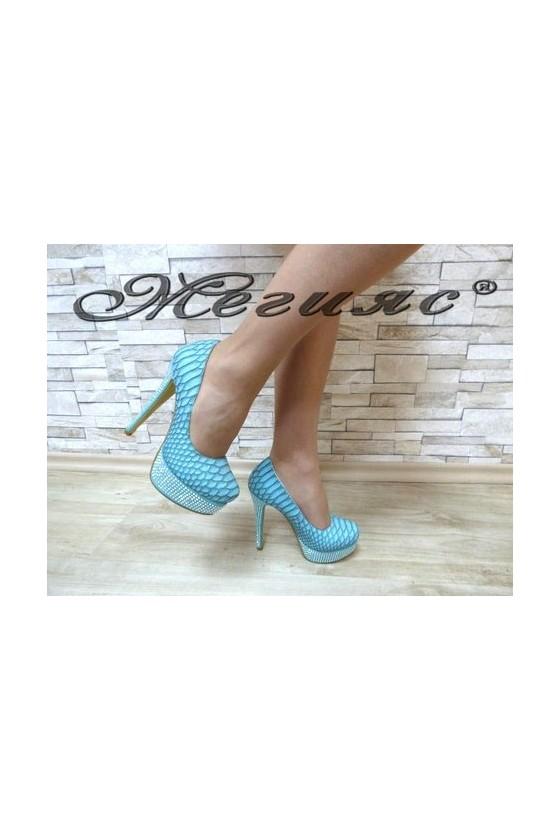 MAGGIE 13-3366 Дамски елегантни обувки сини