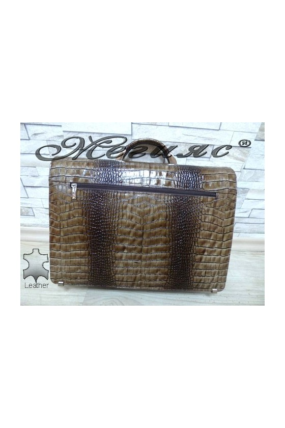 217-011 Bag khaki leather