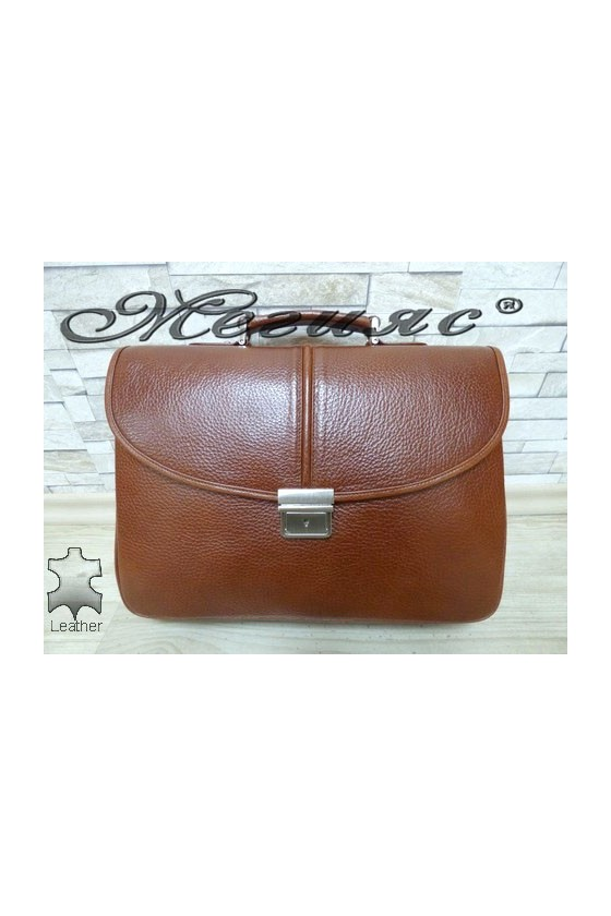 1313-142 Бизнес чанта таба от естествена кожа