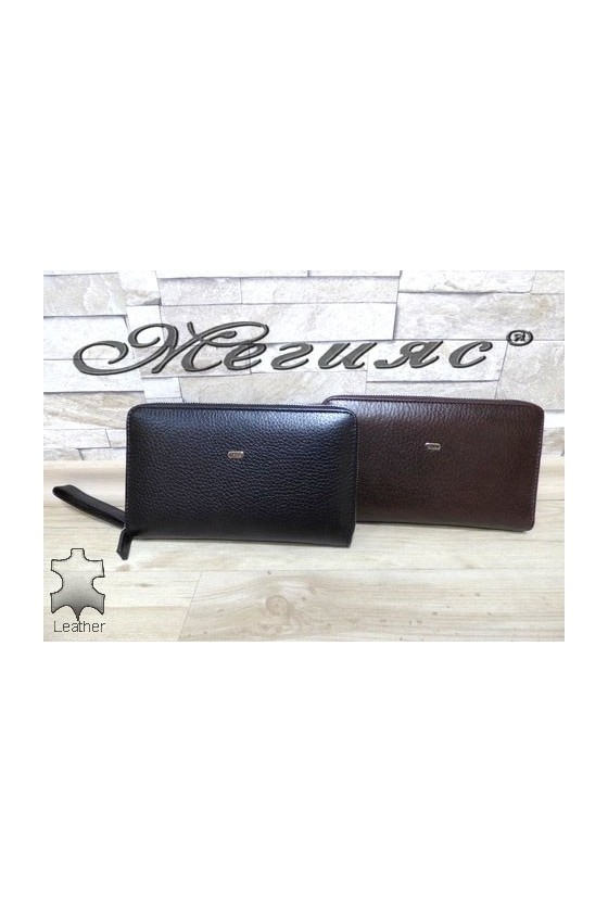 260 Men's bag brown/black leather