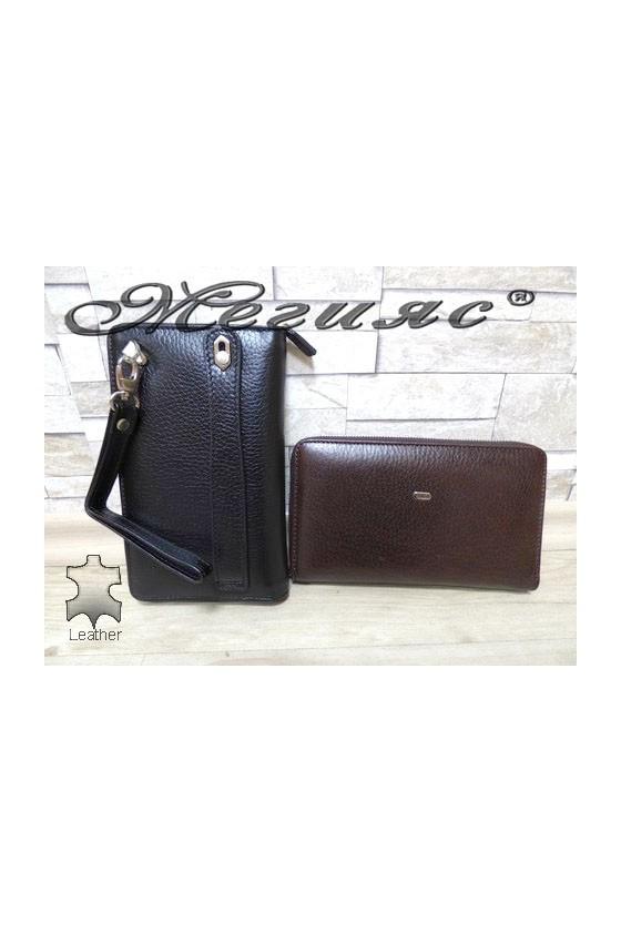 260 Men's bag brown/black leather