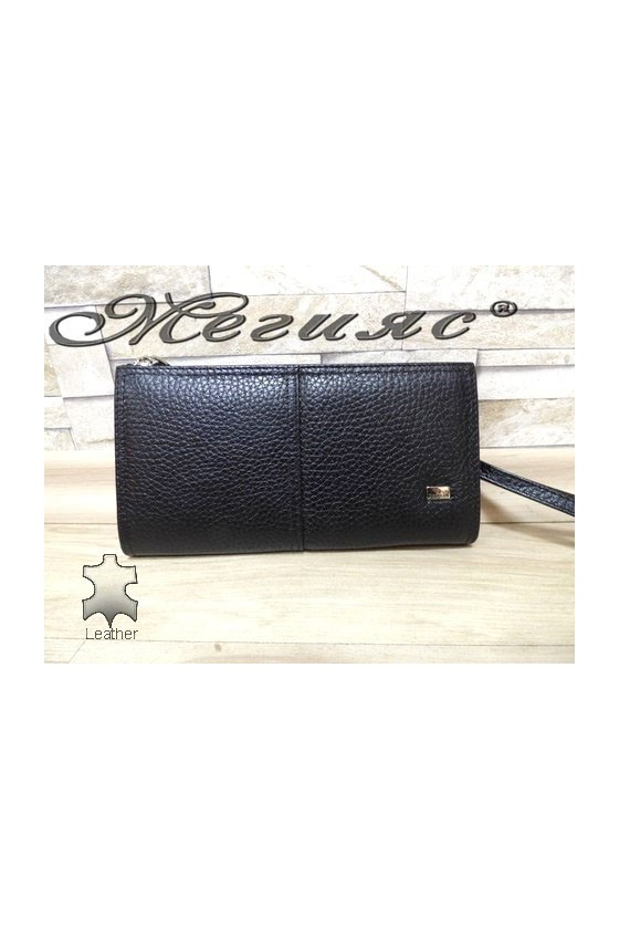 307 Men's bag black leather