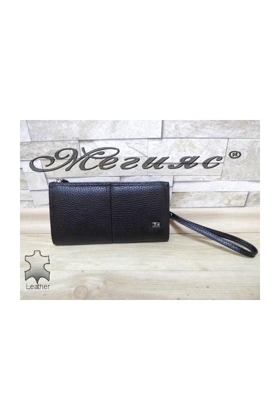 307 Men's bag black leather