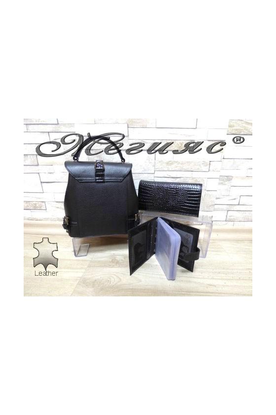 Bag 573-057-210 black leather