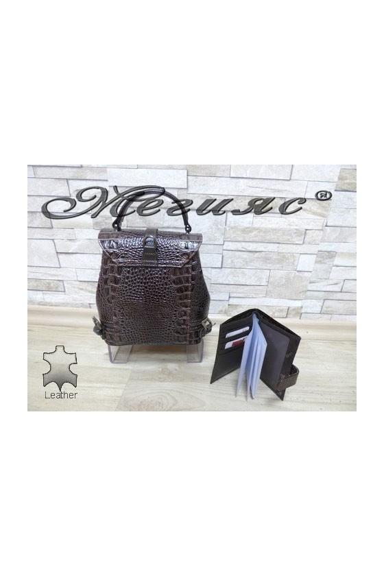 573 -210 Bag brown leather