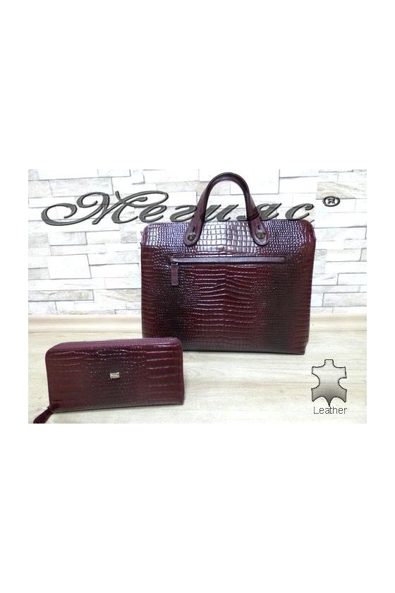 2939 - 09 Bag wine leather