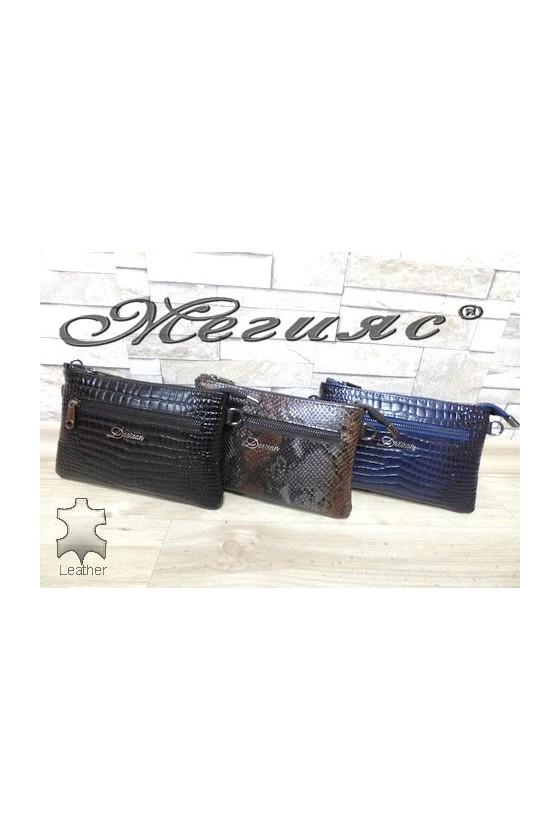 532 Несесер-чанта от естествена кожа
