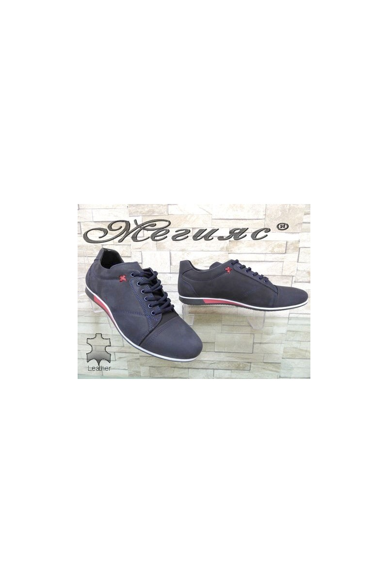 Men sport shoes Fantasia 803 bue nubuck