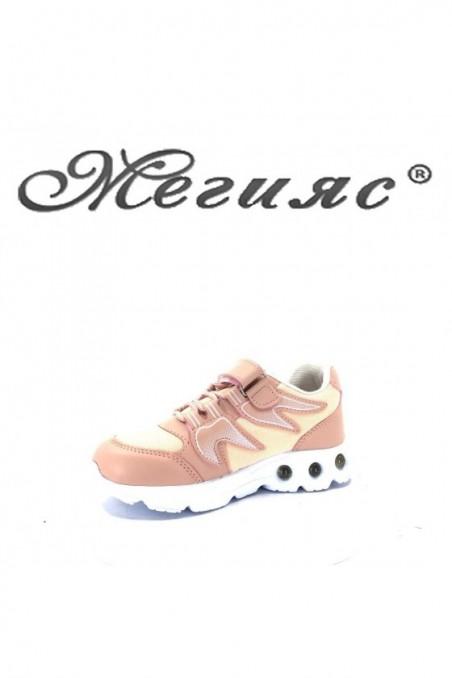 005115 Children's shoes pudra pu