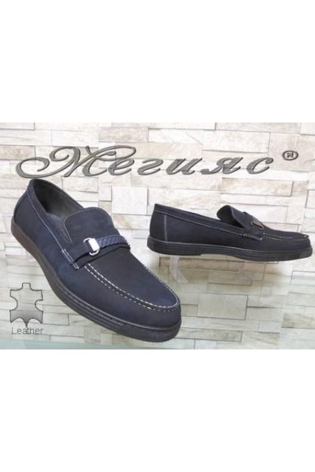 500 Men's XXL shoes blue suede