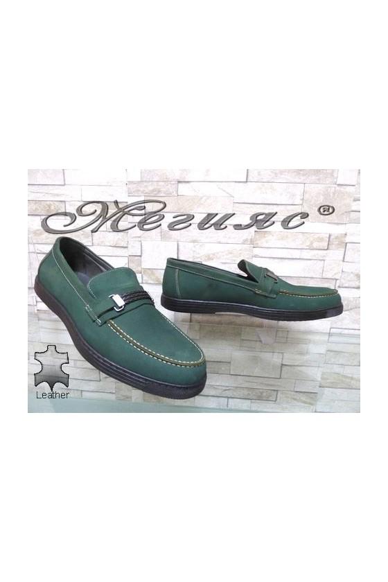 500 Мъжки обувки XXL гигант от естествена кожа