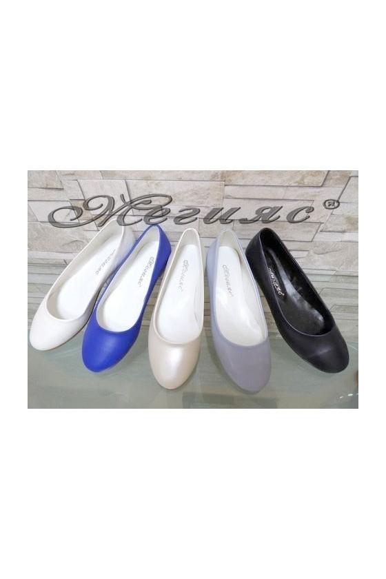 101 XXL Дамски ежедневни обувки от еко кожа