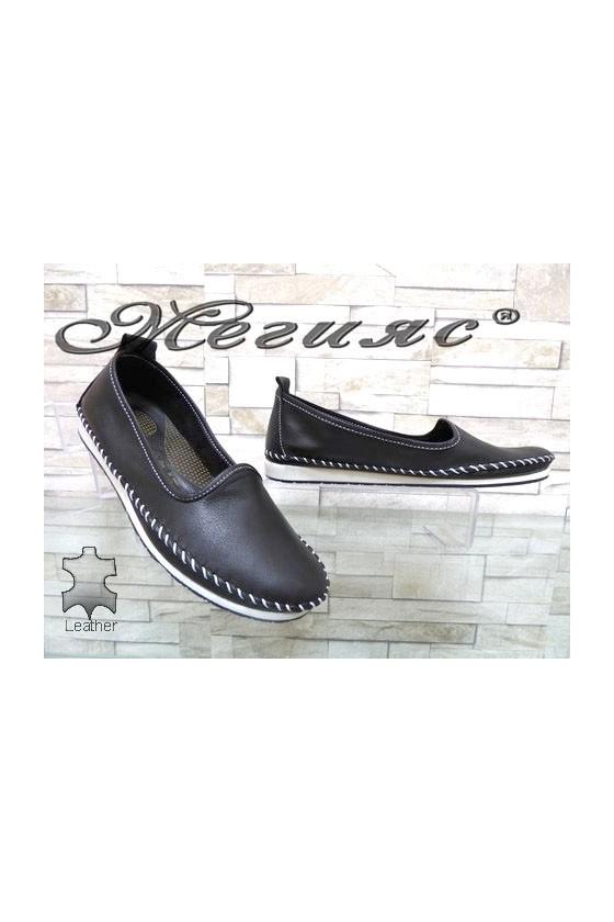 801 Дамски обувки от естествена кожа