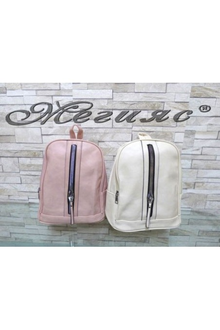2126 Lady bag beige/rose pu