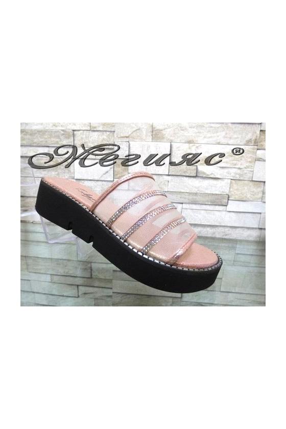 1001 Women sandals nude pu