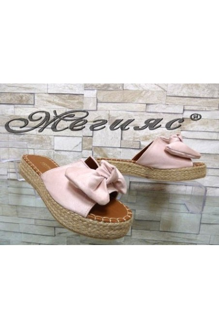 620 Lady sandals nude suede