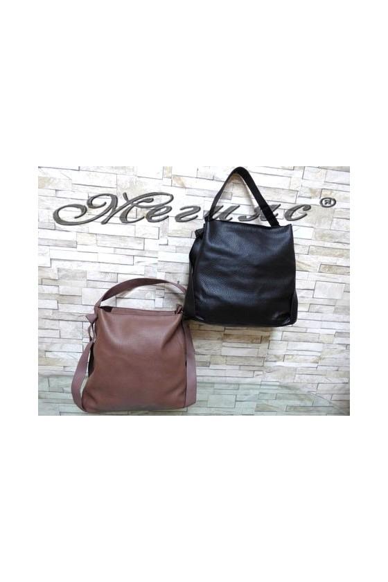 807097 Дамска чанта от еко кожа
