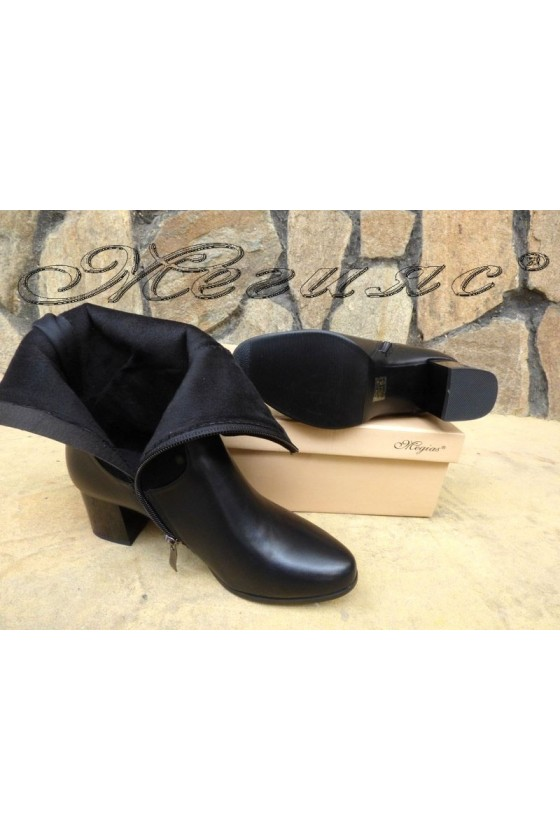 Christine 19-1423 Women boots black pu