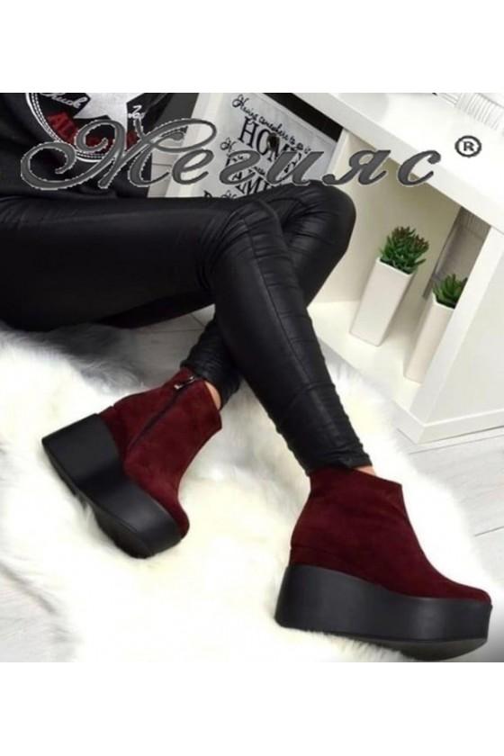 130-K Lady platform boots...