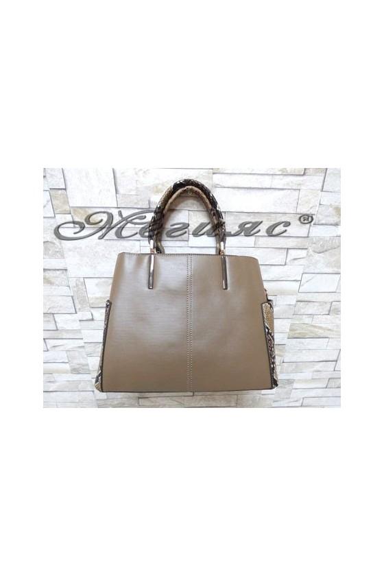 5037 Lady bag beige pu