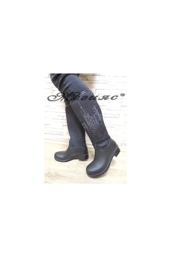 74 Lady boots black