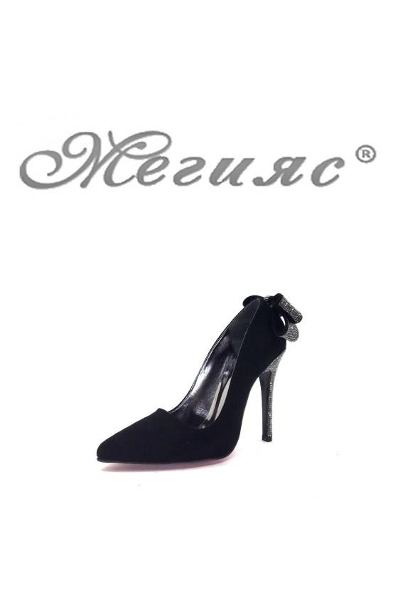 1256 Дамски елегантни обувки на висок ток
